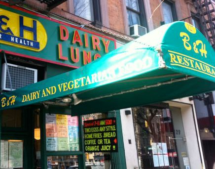 LocalEats B&H Dairy & Vegetarian Food in New York restaurant pic