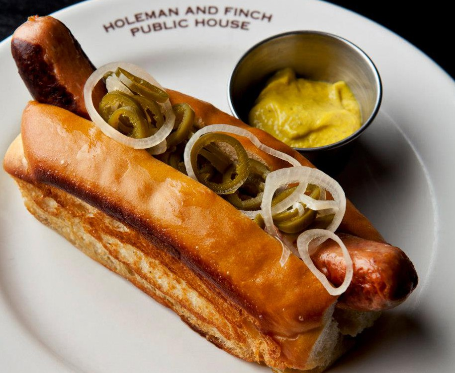 LocalEats Holeman and Finch Public House in Atlanta restaurant pic