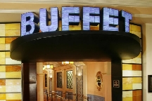 Buffet at Bellagio, The photo
