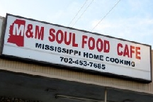 LocalEats M&M Soul Food Cafe in Las Vegas restaurant pic