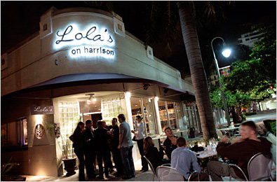 LocalEats Lola's on Harrison in Fort Lauderdale restaurant pic