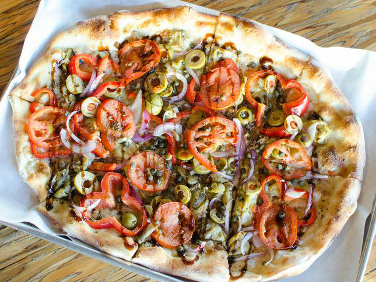 LocalEats Urbn Coal Fired Pizza in San Diego restaurant pic