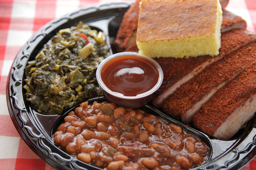 LocalEats Andy Nelson's Southern Pit Barbecue in Baltimore restaurant pic