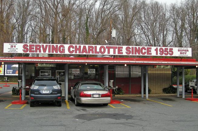 LocalEats South 21 Drive-In in Charlotte restaurant pic